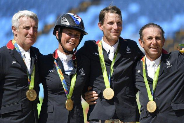 Euro-2019 d'équitation: la qualification olympique en jeu pour les Bleus