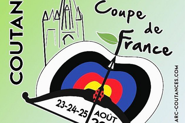 La première Coupe de France de tir à l'arc extérieur a lieu à Coutances
