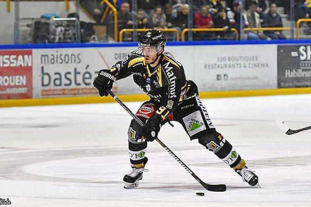 Hockey sur glace : Rouen battu en amical par les Drakkars de Caen
