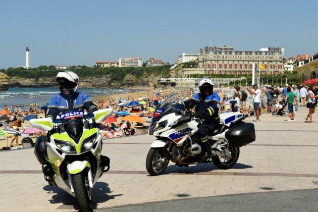 Barricadées, Biarritz et sa région se préparent à un G7 sous haute tension