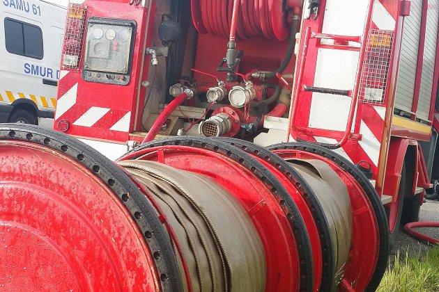 Début d'incendie à l'usine d'engrais Yara-France à Gonfreville L'Orcher