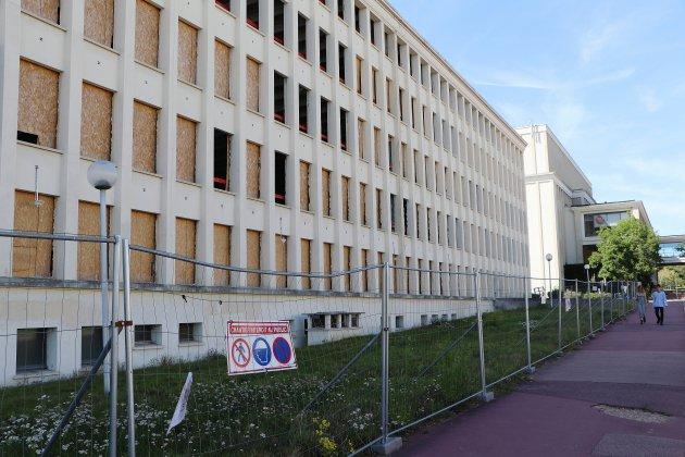 Caen: que devient le bâtiment B de l'Université au Campus 1?