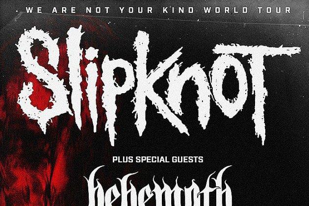 Les metalleux de Slipknot de retour en France
