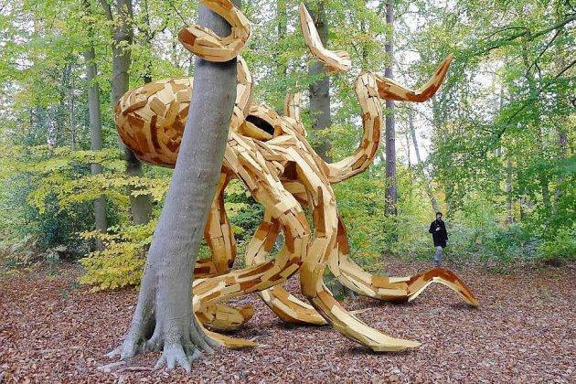 À Rouen, un artiste appelle aux dons de bois pour une œuvre monumentale