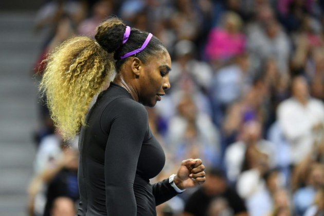 US Open: Garcia ne s'en sort pas, Serena impressionne