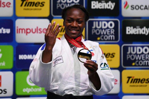 Mondiaux de judo: Agbegnenou s'offre une 4e étoile historique, au bout de l'effort