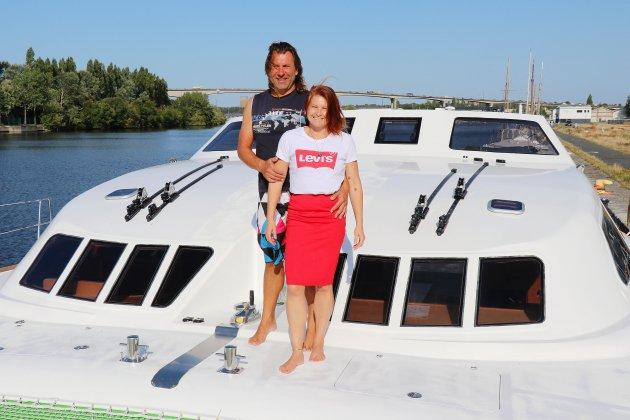 À Caen, ces Alsaciens préparent leur tour du monde en catamaran