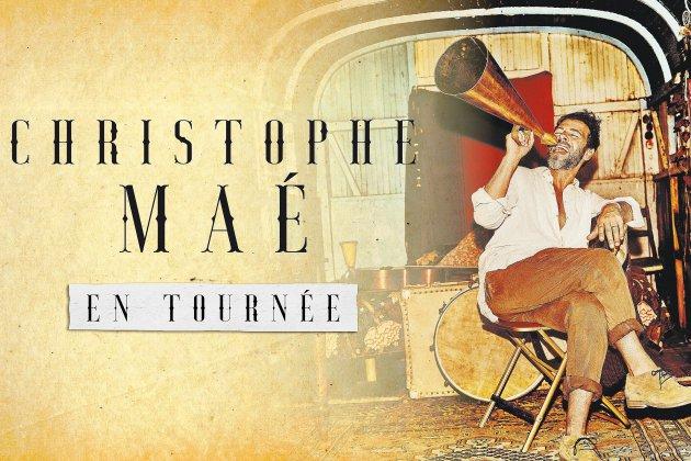 Christophe Maé part en tournée en 2020: 2 dates enNormandie!