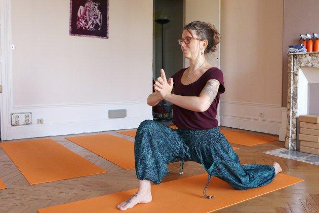 [Portrait] Sabrina Debris, de la gym de haut niveau au yoga à Rouen