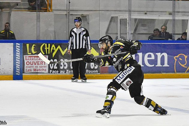 Hockey : les Dragons de Rouen s'imposent à Amiens