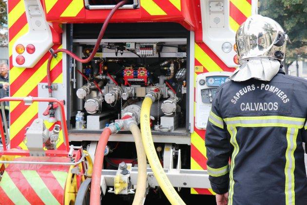 A Caen, plus de cinquante habitants tirés du lit par un incendie
