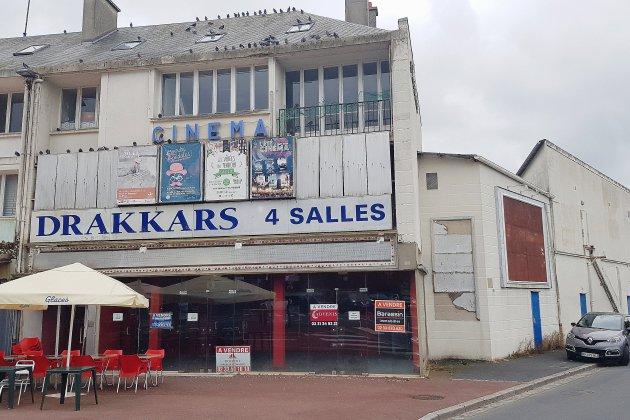 Les deux anciens cinémas Drakkars de Saint-Lô et Coutances en vente sur le net !