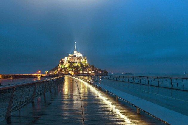 Laurent Voulzy donne deux concerts dans l'abbaye du Mont-Saint-Michel