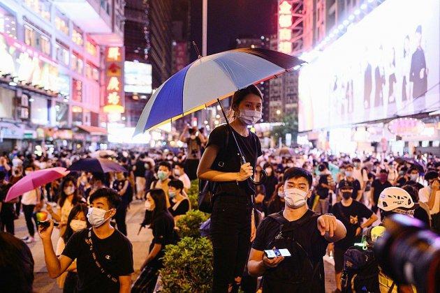 Hong Kong: les manifestants ciblent à nouveau l'aéroport