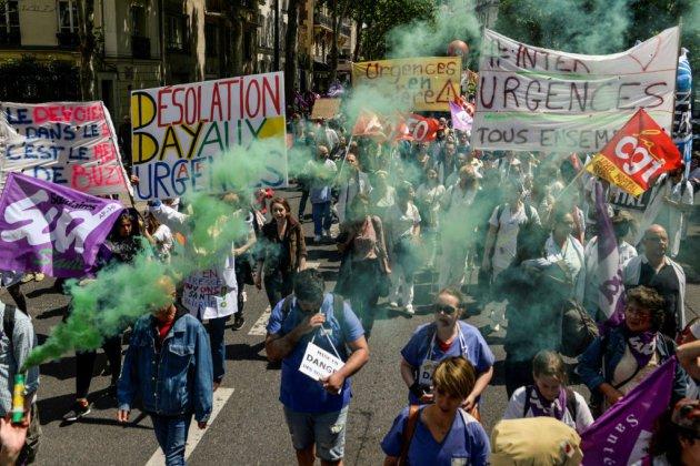 Urgences: l'assemblée générale des grévistes vote la poursuite du mouvement