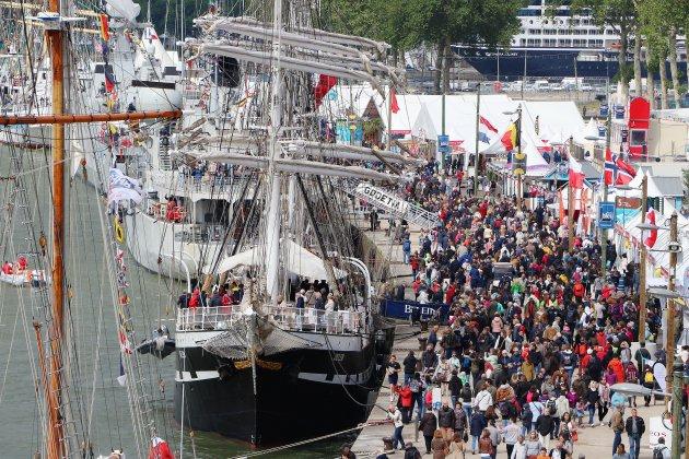 Bilan définitif pour l'Armada de Rouen avec 3,8 millions de visiteurs