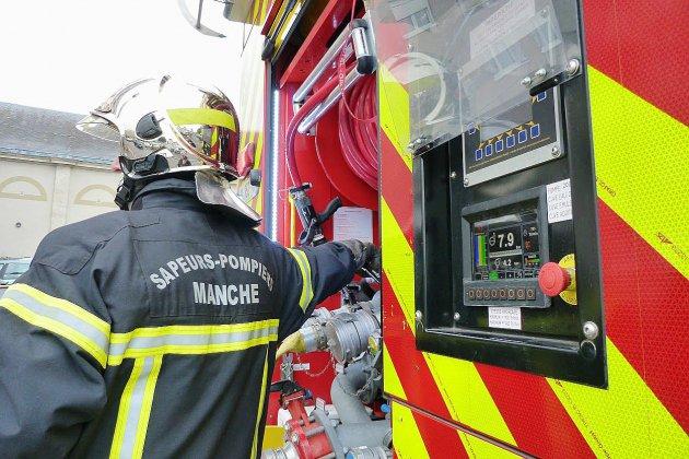 Manche : un homme périt dans l'incendie de sa maison