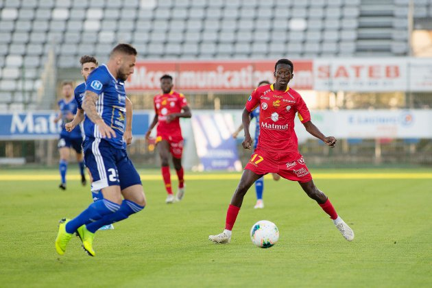 Football: Quevilly Rouen Métropole ramène un point de Concarneau