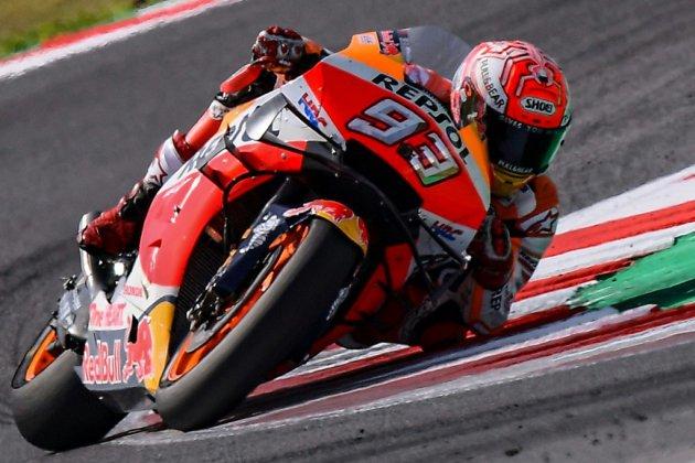 MotoGP: Marquez remporte le GP de Saint-Marin, Quartararo 2e