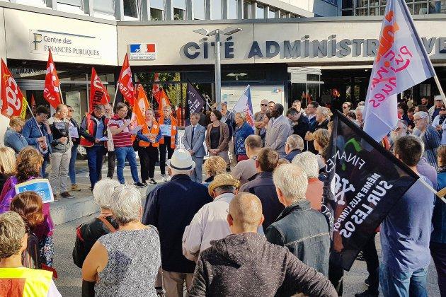 Orne: contre les suppressions de postes, journée de grève aux finances publiques