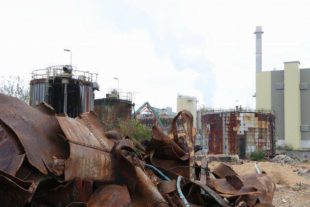 [Photos] Près de Rouen, l'ancien site de Pétroplus dépollué à 70%