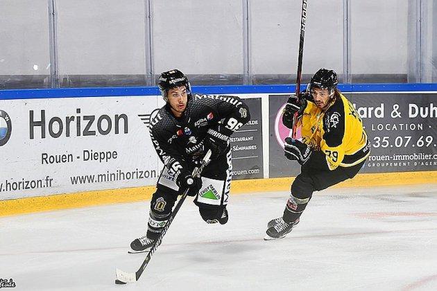Hockey sur Glace ( Ligue Magnus) : les Dragons de Rouen battus par Angers !
