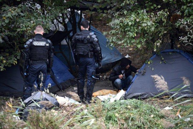 Évacuation du campement de migrants de Grande-Synthe