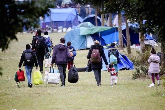 Nouvelle évacuation du campement de migrants de Grande-Synthe
