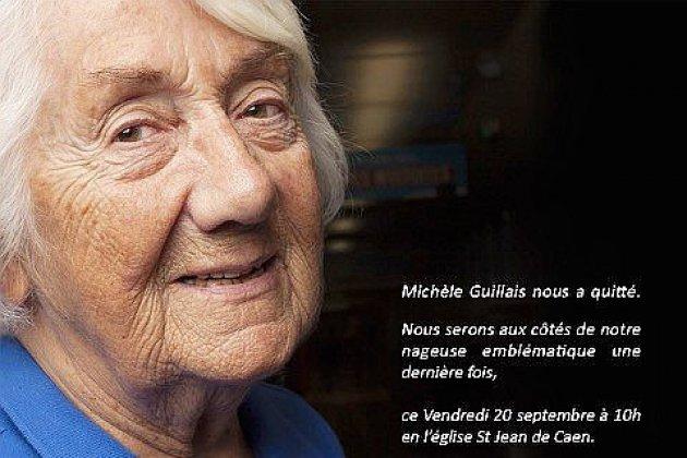 Caen : Michèle Guillais, triple championne du monde de natation est décédée