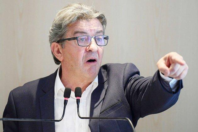 Perquisition à LFI: procès sous tension pour Mélenchon et cinq proches