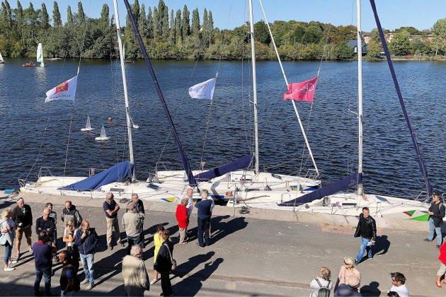 La nouvelle base nautique Caen-Mondeville inaugurée