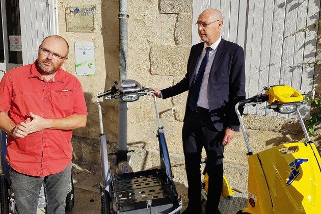 Visitez Alençon en … triporteur électrique
