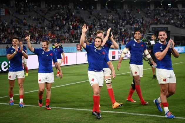 Mondial de rugby: le XV de France se fait une peur bleue