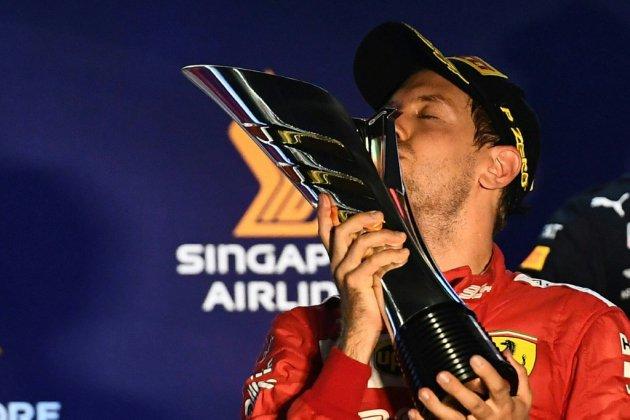 GP de F1 de Singapour: Vettel renoue enfin avec le succès