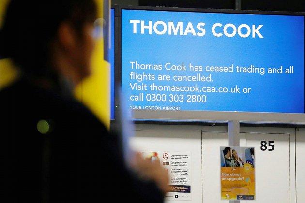 Opération de rapatriement hors normes après la faillite de Thomas Cook