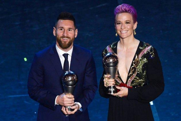 Prix FIFA The Best: Lionel Messi coiffe Virgil Van Dijk