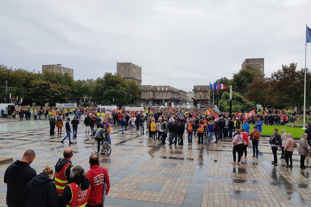 Environ 5000 personnes dans les rues de Seine-Maritime contre la réforme des retraites