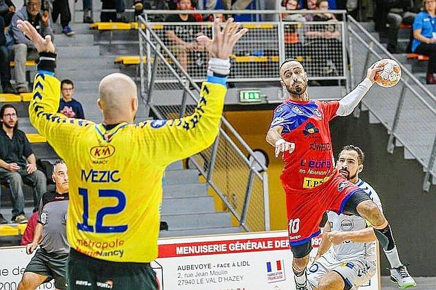 Handball (Nationale 1): le SM Vernon battu par Angers