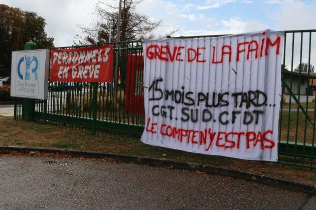 """Grève au Rouvray: """"on est revenu 15 mois en arrière"""""""