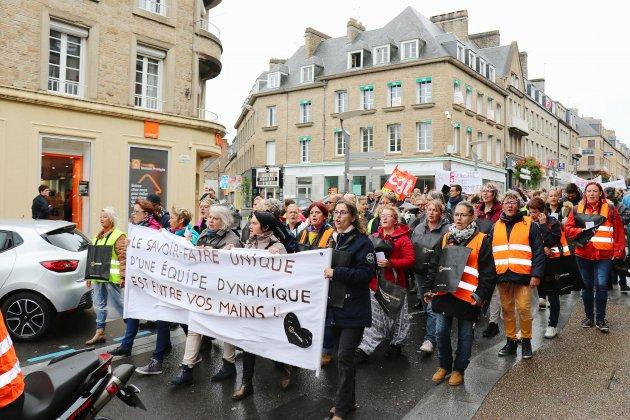 Deux cent cinquantesalariés de Remade manifestent pour la sauvegarde de leur entreprise et des emplois