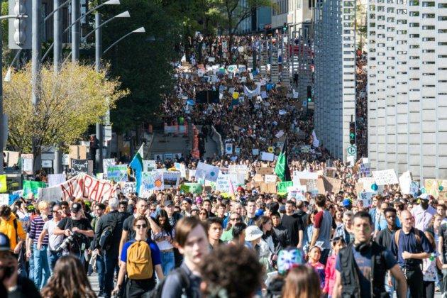 Près de 500.000 personnes ont manifesté à Montréal avec Greta Thunberg (organisateurs)