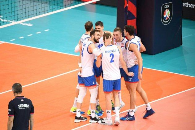 Euro de volley: la Serbie bat la France et va en finale
