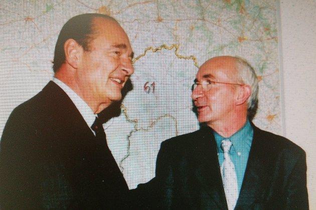 Décès de Chirac: fièvre aphteuse, le président était venu dans l'Orne