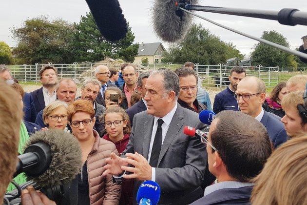 Après l'incendie de Lubrizol à Rouen, les agriculteurs sont inquiets