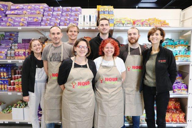 """Le premier magasin """"NOUS anti-gaspi"""" de Normandie ouvre à Cherbourg"""