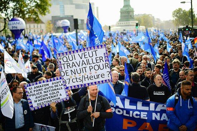 Des Normands parmi les policiers dans les rues de Paris