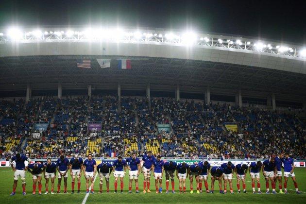 Mondial de rugby: le XV de France droit vers les Tonga
