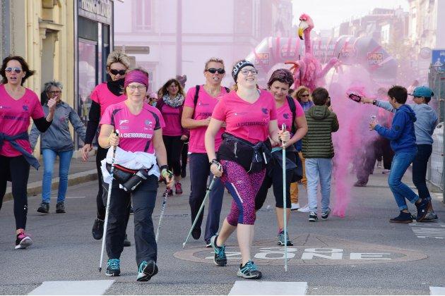 Octobre rose: la Cherbourgeoise fête ses dix ans