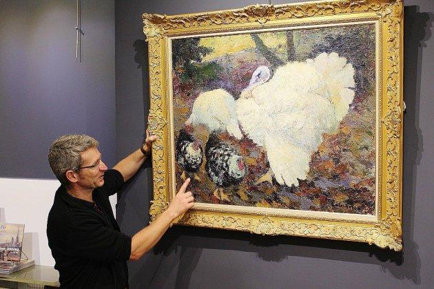 Un critique d'art à l'honneur à la galerie Bertran à Rouen