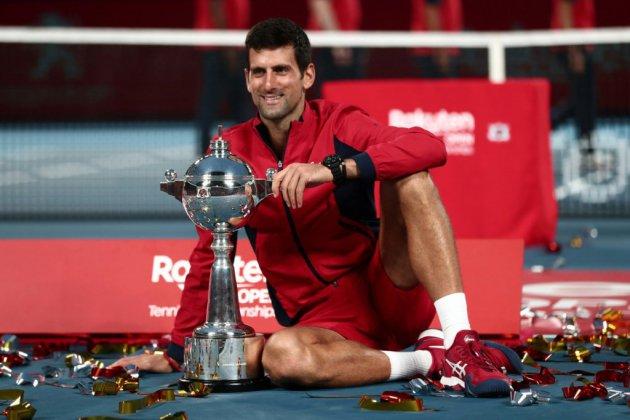 Tennis: Djokovic impérial à Tokyo avant le Masters 1000 de Shanghai